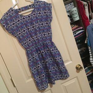 Boho chic spring dress